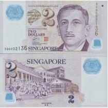 Сингапур 2 доллара 2005 г.
