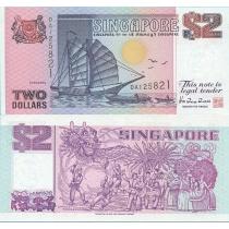 Сингапур 2 доллара 1992 год.