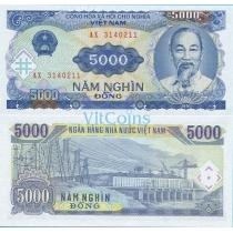 Вьетнам 5000 донгов 1991 год.