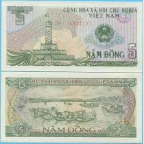 Вьетнам 5 донгов 1985 год.