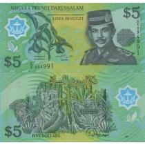 Бруней 5 ринггит 2002 г.
