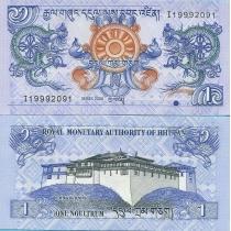 Бутан 1 нгултрум 2006 г.