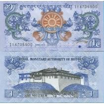 Бутан 1 нгултрум 2013 год.