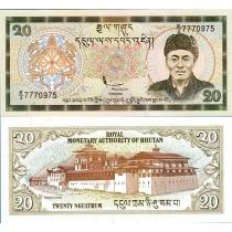 Бутан 20 нгултрум 2000 г.