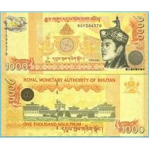 Бутан 1000 нгултрум 2008 год.
