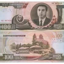 Северная Корея 100 вон 1992 год.