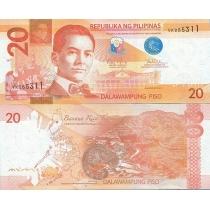 Филиппины 20 песо 2013 г.