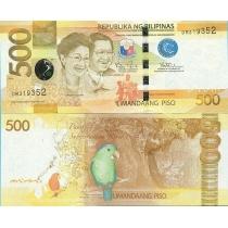 Филиппины 500 песо 2014 год.