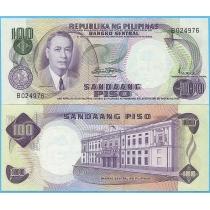 Филиппины 100 песо 1969 год.