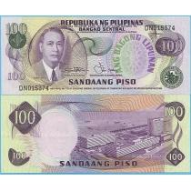 Филиппины 100 песо 1978 год.