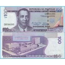 Филиппины 100 песо 2009 год.