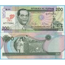 Филиппины 200 песо 2011 год. 400 лет университету Санто-Томас в  Маниле.