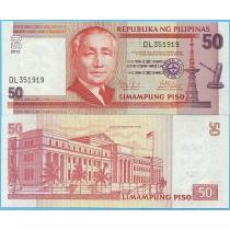 Филиппины 50 песо 2012 год.