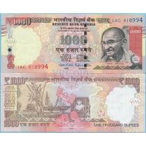 Индия 1000 рупий 2015 год.