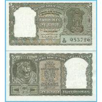 Индия 2 рупии 1962-1967 год. Pick 31