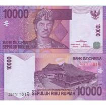 Индонезия 10.000 рупий 2005 год.