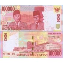 Индонезия 100.000 рупий 2014 год