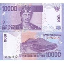 Индонезия 10.000 рупий 2015 год.