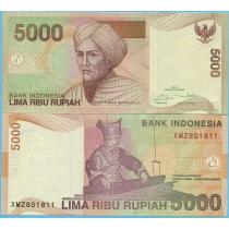 Индонезия 5000 рупий 2016 год.