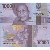 Индонезия 10.000 рупий 2016 год.