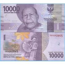 Индонезия 10.000 рупий 2018 год.
