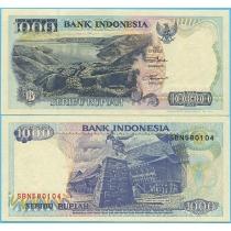 Индонезия 1000 рупий 1998 год.