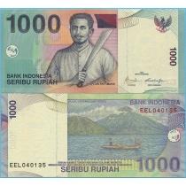 Индонезия 1000 рупий 2009 год.