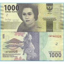 Индонезия 1000 рупий 2019 год.