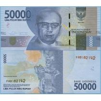 Индонезия 50.000 рупий 2016 год