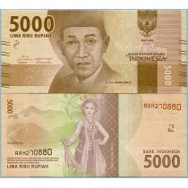 Индонезия 5000 рупий 2016 (2017) год.