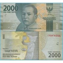 Индонезия 2000 рупий 2016 год.