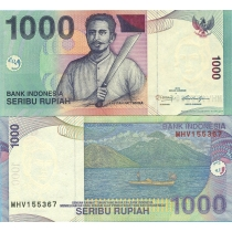 Индонезия 1000 рупий 2013г.