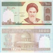 Иран 1000 риалов 2013 год.