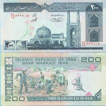 Иран 200 риалов 2004 год.