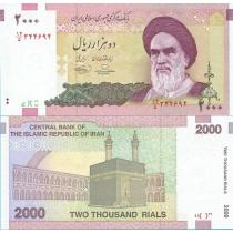 Иран 2000 риалов 2005-2008 г.