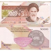 Иран 5000 риалов 2013 год.