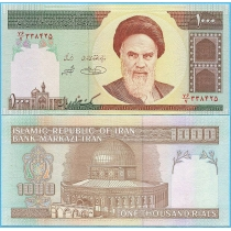 Иран 1000 риалов 2004 год.