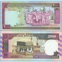 Иран 2000 риалов 1994 год.