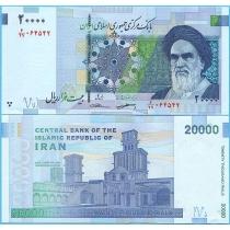 Иран 20000 риалов 2018 год.
