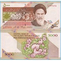 Иран 5000 риалов 2005 год.