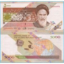Иран 5000 риалов 2009 год. Спутник.