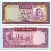 Иран 100 риалов 1971-1973 год.