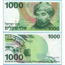 Израиль 1000 шекелей 1983 год.