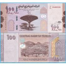 Йемен 100 риал 2018 год.