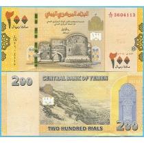 Йемен 200 риал 2018 год.