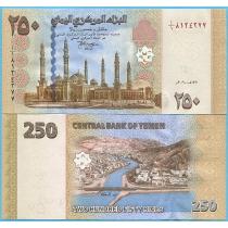 Йемен 250 риал 2009 год.