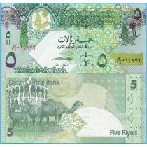 Катар 5 риалов 2008 год.