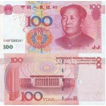 Китай 100 юаней 2005 г.