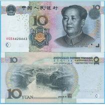 Китай 10 юаней 2005 год. P-904а.2