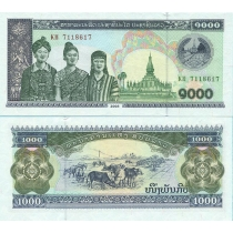Лаос 1000 кип 2003 год.